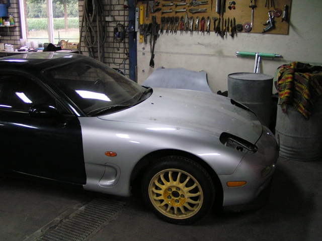 RX7 RX 7 FD3S 1992 1995 13B REW twin turbo damage repair